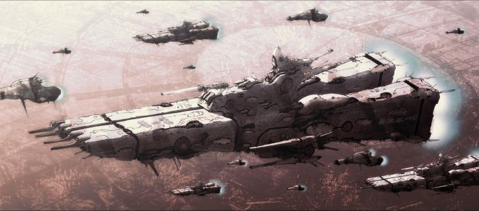 Supervision Fleet, 996th Squadron, Trauzen group by AtomicGenjin
