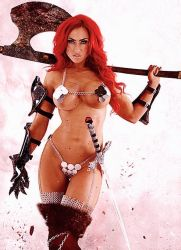 Red Sonja by turbo-wooo-bots