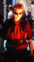 Red Wesker by Willwarine