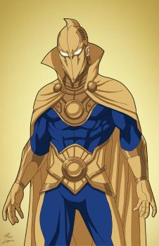 Doctor Fate (Earth-27) commission by phil-cho