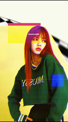 Lisa #1  (Wallpaper) by victoricaDES