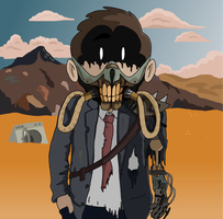 Commission - Mad Max-Inspired Avatar by KanesTheName