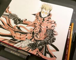 Vash the Stampede by nadnotz