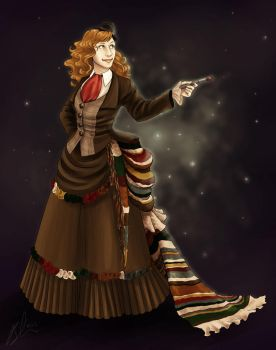 Commission- Victorian Dr. Who by Terrizae