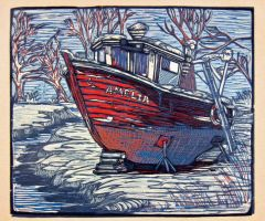 Lobster Boat Amelia by chicolet