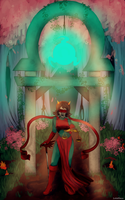 Commission: Terezi Pyrope by Lolalilacs