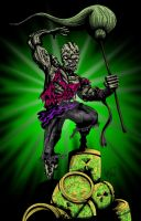 Toxic Avenger by OuthouseCartoons
