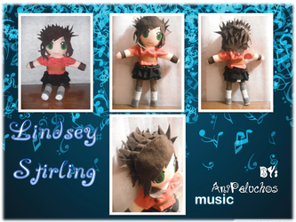 Lindsey Stirling Plush by AniPeluchos
