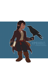 Commish - DnD OC by kamidoodles