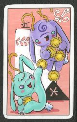 6 of pentacles by smushbox
