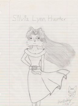 Silvia Lynn Hunter by lynxhunter