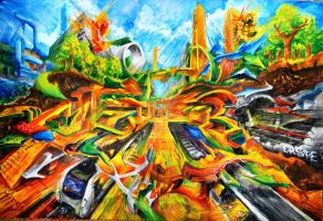 Ecology Metro Art - EcoMetroArt Contest - 2013 by ERSTE
