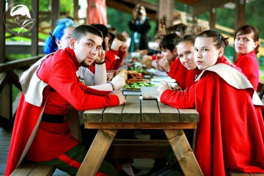 The Delegation of Durmstrang ~ Common dinner by OriyaPrince