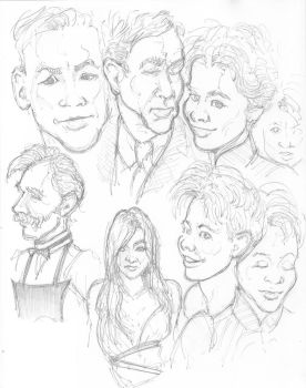 Other faces from Dracula by Neumatic