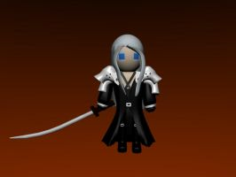 Lil Sephiroth by SiverCat