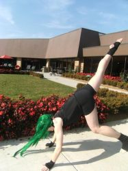 Cartwheeling Envy 2009 by SpellboundFox