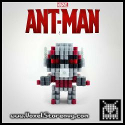 Ant-Man (Marvel Comics) by VoxelPerlers