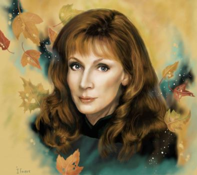 Beverly Crusher by Ilnere