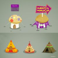 Quidditch World Cup : Props 01 by Chapet