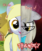 The Two Sides of Discordant Derpy by kiddysa-bunnpire
