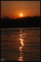 Water Sunset by Crank0