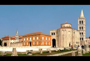 Old Zadar Panorama - Croatia by skarzynscy