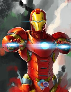 Avengers: Ironman by dr-conz