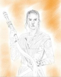Rey by AllisArtWorld