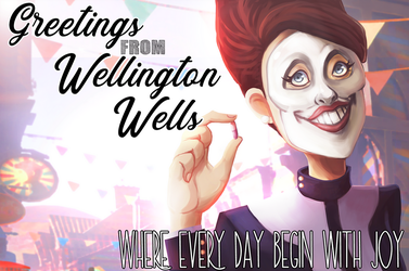 Greeting from Wellington Wells by Flamingoz