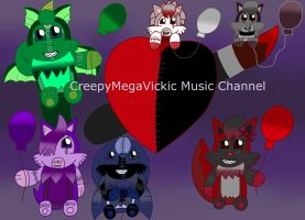 CreepyMegaVickic Music Channel Picture by Vickicutebunny