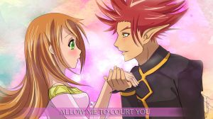 Munto and Yumemi  - Allow me to court you by Aniyumex