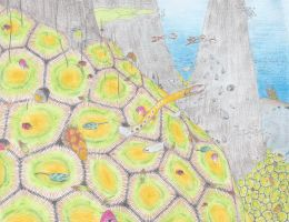 Xenobiology Wednesday- Cetus' Tiled Reef by Biofauna25