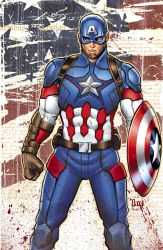 Captain America by Wesflo
