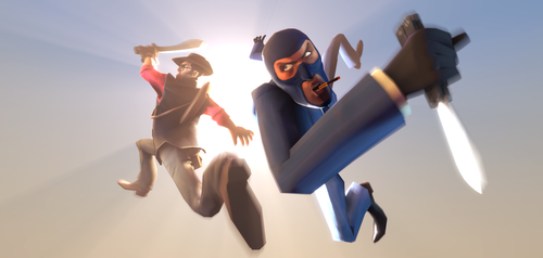 Graceful Assassins SFM by Py-Bun