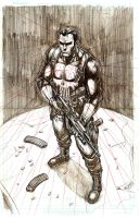 Punisher pencils by MLAYCO