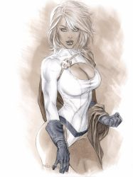 PowerGirl in Copic color by me eBas by ebas