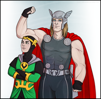 Kid Loki|Thor by maryallen138