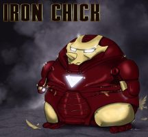 Iron man - Chick by Poticceli