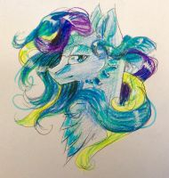 Queen Oceania by winterfox18 by QuestionUnicorn