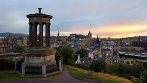 Calton Hill by LunaFeles