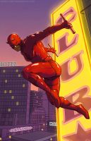 Daredevil by carstenbiernat