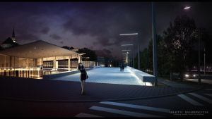 Freedom Square 04 3D VISUALIZATION by gravier25