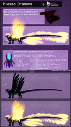 Plasma Dragons || Closed Speices Ref by smokeing-fish