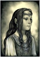 Young Nerdanel by ebe-kastein