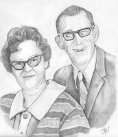 My Grandparents by B-Richards
