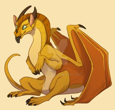 Wings of Fire -  Sunny by AbelPhee