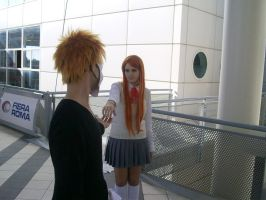 Ichihime Bleach - touch me by xRika89x