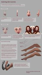 Skin coloring tutorial. by Suzanne-Helmigh