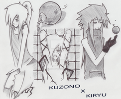 .: Kuzono x Kiryu :. by Nocturnally-Blessed