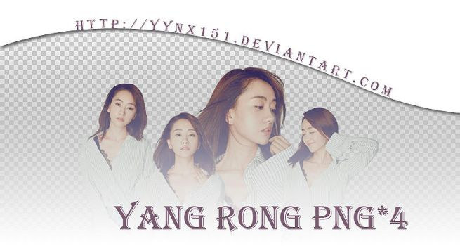 Yang Rong png pack #01 by yynx151
